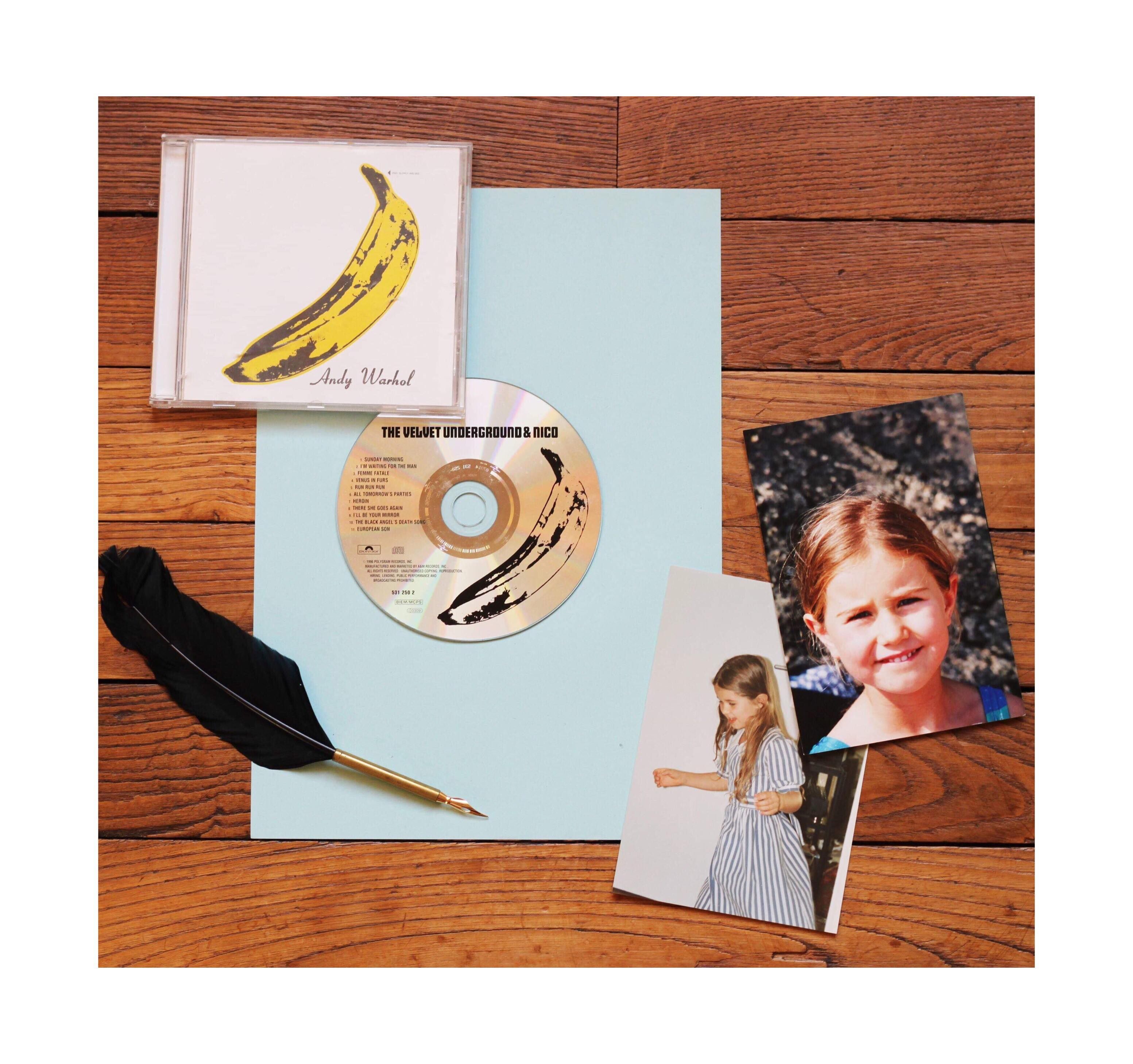 AW atelier initiales journal, différent objets